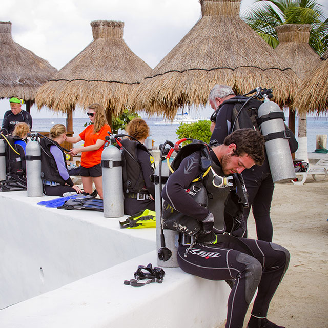 Diving Casa del mar Cozumel - Packages